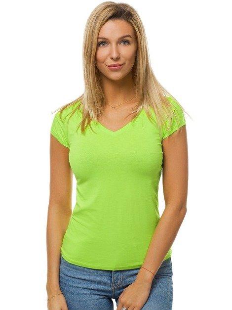 damen t-shirt grün-neon ozonee bt/71319a | ozonee