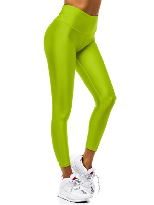 Damen Leggings Grün OZONEE JS/YW06010/27