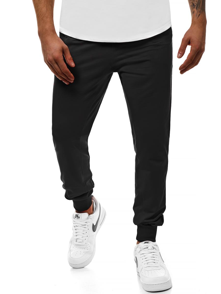 100% hohe Qualität schnüren in 2019 am besten verkaufen Herren Sporthose Schwarz MAD/2903 | OZONEE