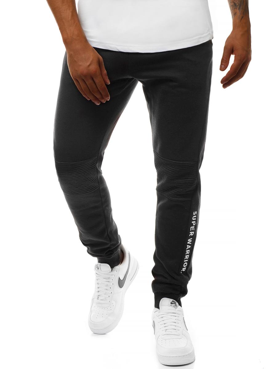 heiß-verkaufendes spätestes retro Markenqualität Herren Sporthose Schwarz OZONEE JS/AM59 | OZONEE