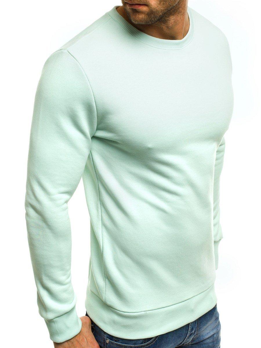 besserer Preis für viel rabatt genießen modisches und attraktives Paket Herren Sweatshirt Mintgrün OZONEE B/171715 | OZONEE