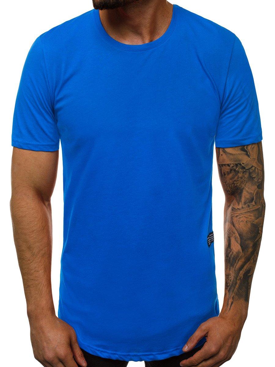 Leder T Shirt Herren