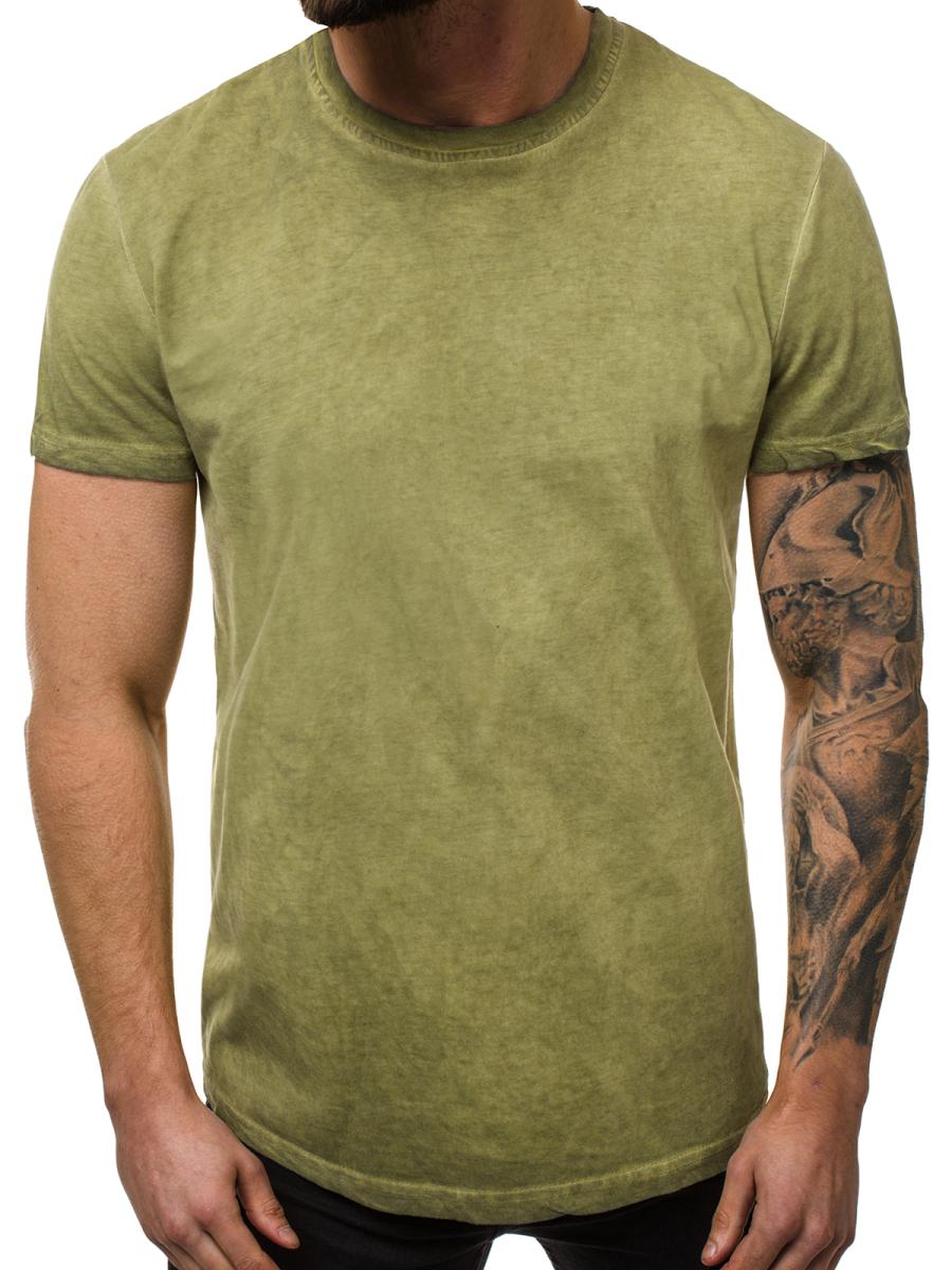 brand new 72868 2546f Herren T-Shirt Khaki OZONEE JS/SS100728   OZONEE