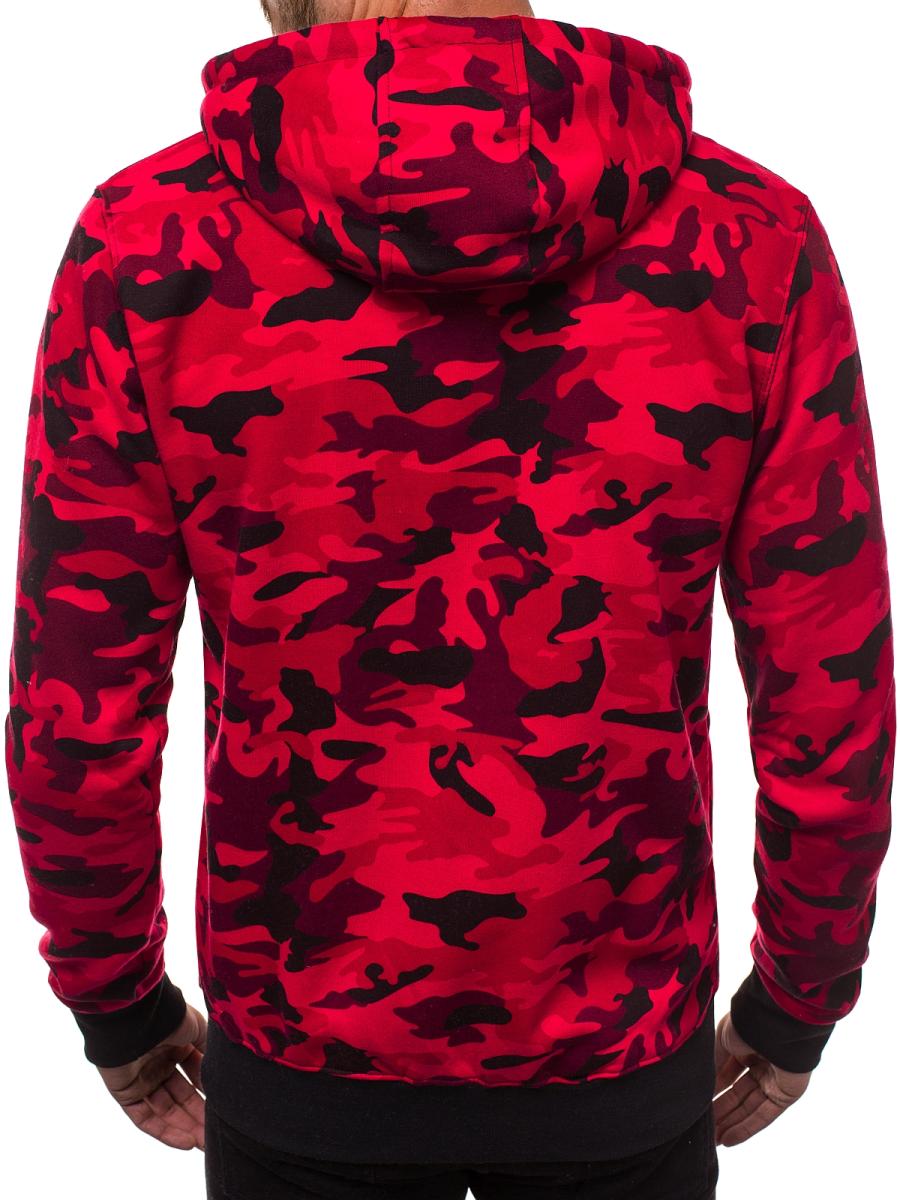 outlet store 2a3a2 34483 J.STYLE DD129 Herren Sweatshirt Rot   OZONEE