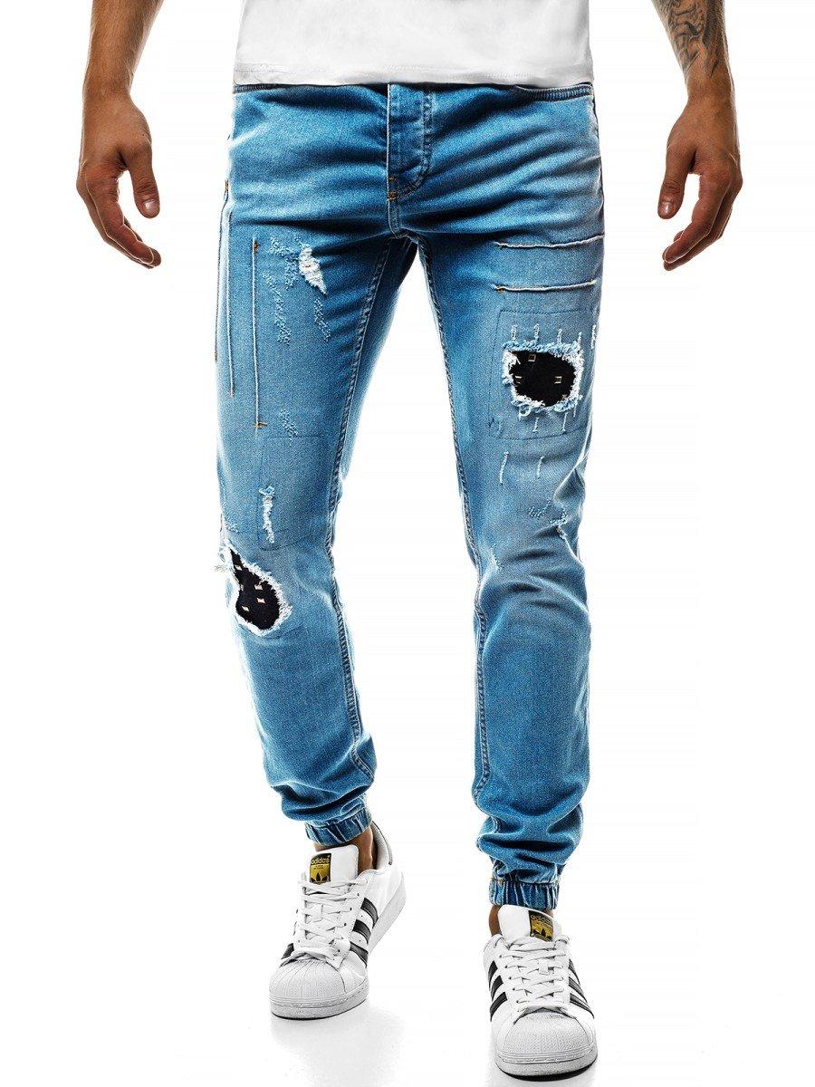 Herren jeans hose Slim Fit Straight Chino Skinny Stretch Herrenhose Stonewashed