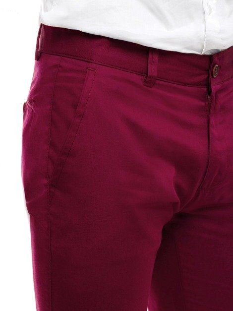 BLACK ROCK 204 Herren Chinohose Weinrot