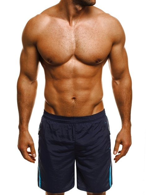 HOT RED WK16 Herren Shorts Dunkelblau