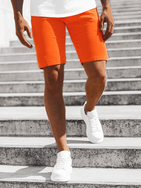Herren Chino Shorts Orange OZONEE JB/JP1142