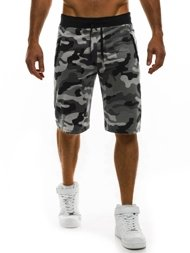 RED FIREBALL 1286 Herren Shorts Grau